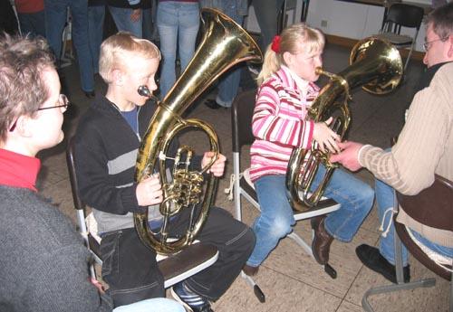 horn spielen kinder